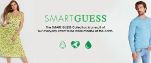 SMART GUESS collection to help the earth.